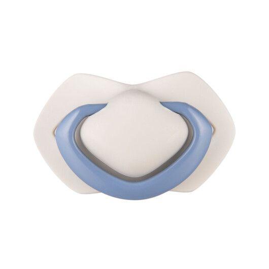 Canpol babies Пустушка силіконова симетрична 18+ м-ців 2 шт. Pure Color - синя - 4