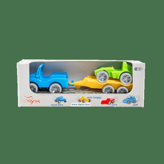 """Набір авто """"Kid cars Sport"""" 3 ел. (джип + багі) - 3"""