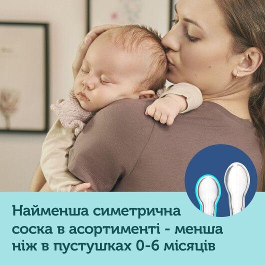 Canpol babies Пустушка силіконова симетрична 0-2 міс Mini 2 шт. - сіра - 8