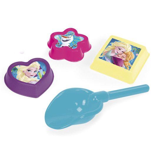 Лопатка + 3 формочки мікс -  Disney - 3