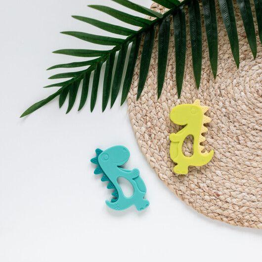 Canpol babies Іграшка-прорізувач силіконова Динозавр - 4