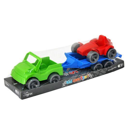 "Набір авто ""Kid cars Sport"" 3 ел. на планшетці (джип + баггі)"