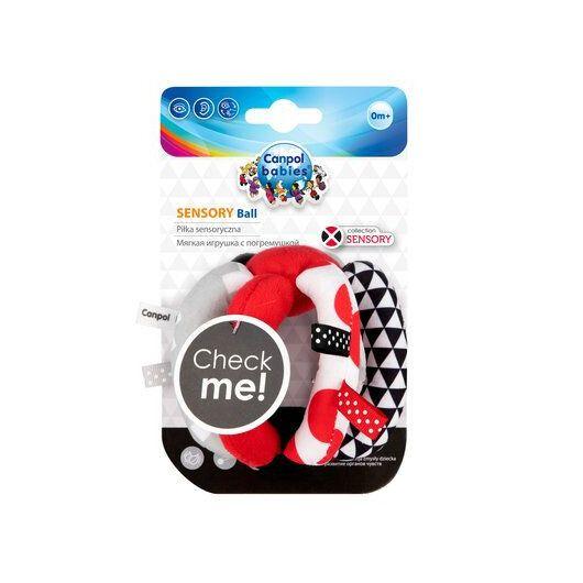 Canpol babies Іграшка-м'ячик м'яка розвиваюча Sensory Toys - 7