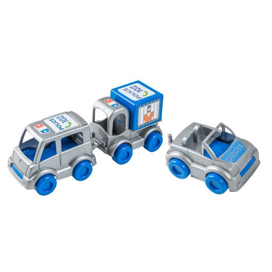 "Набір авто ""Kid cars"" поліцейський - 2"