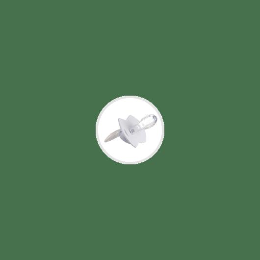 Canpol babies Ланцюжок до пустушки ROYAL BABY - рожевий - 6