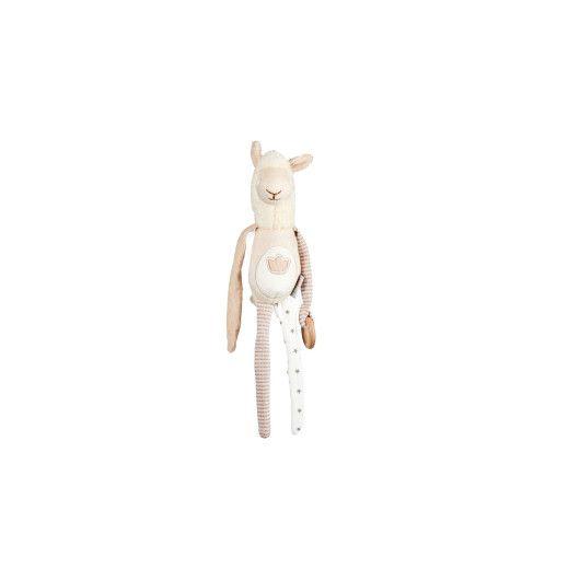 Іграшка - брязкальце лама Семмі, ELFIKI - фото 360