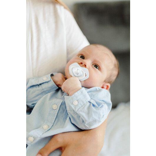 Canpol babies Пустушка силіконова симетрична 6-18 міс ROYAL BABY 2 шт. - блакитна - 8