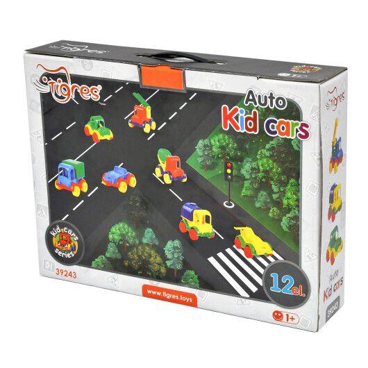 "Авто ""Kid cars"" 12 шт. - 16"