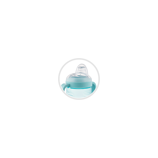 Canpol babies Кружка непроливайка з силіконовим носиком 220 мл - 11