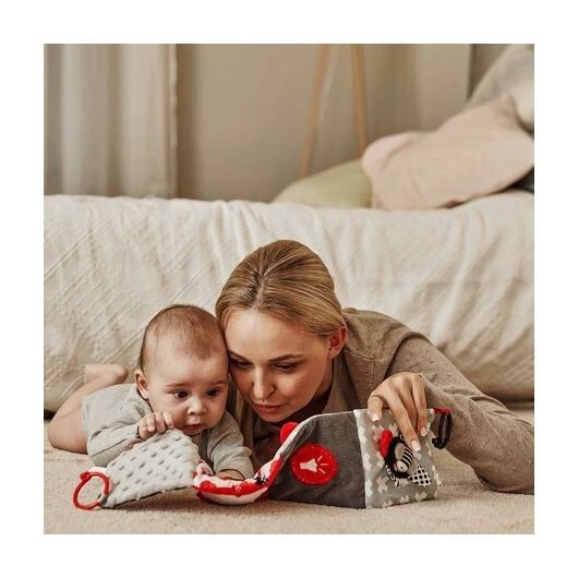 Canpol babies Іграшка-книжечка м'яка розвиваюча Sensory Toys - 9