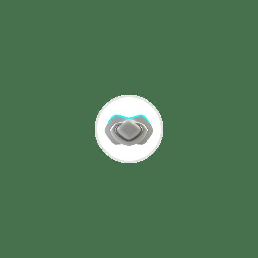 Canpol babies Пустушка силіконова симетрична 6-18 міс BONJOUR PARIS 2 шт. - блакитна - 12