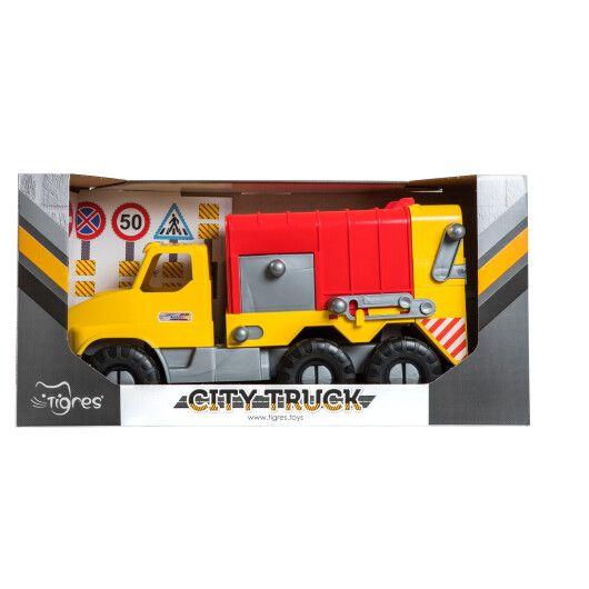 """Авто """"City Truck"""" сміттєвоз в коробці - 3"""