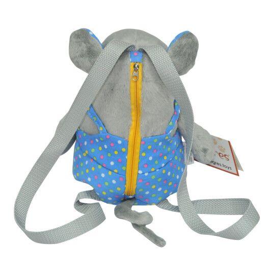 "Игрушка - рюкзак ""Мышка - мальчик"", Tigres - 4"