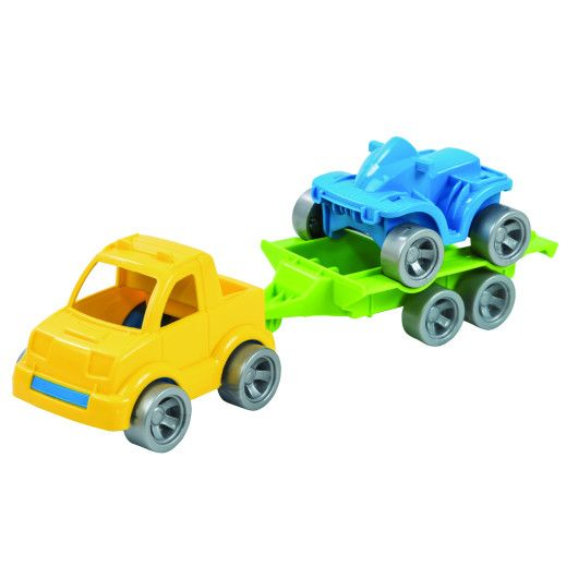 "Набор авто ""Kid cars Sport"" 3 эл. (пикап + квадроцикл) - 2"
