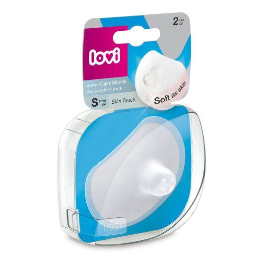 LOVI Силіконова насадка на сосок Skin Touch 2 шт. S - 4