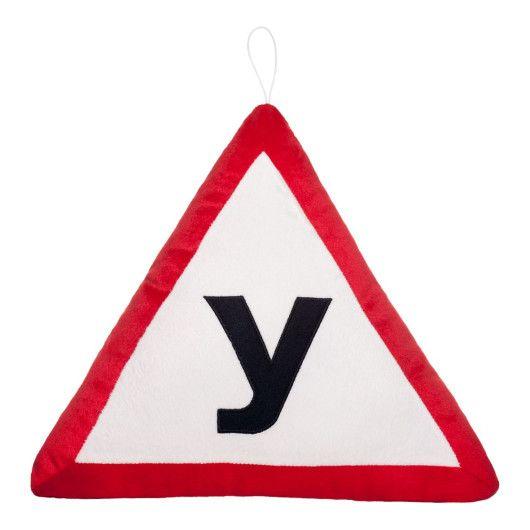 """Подушка дорожній знак """"У"""""""