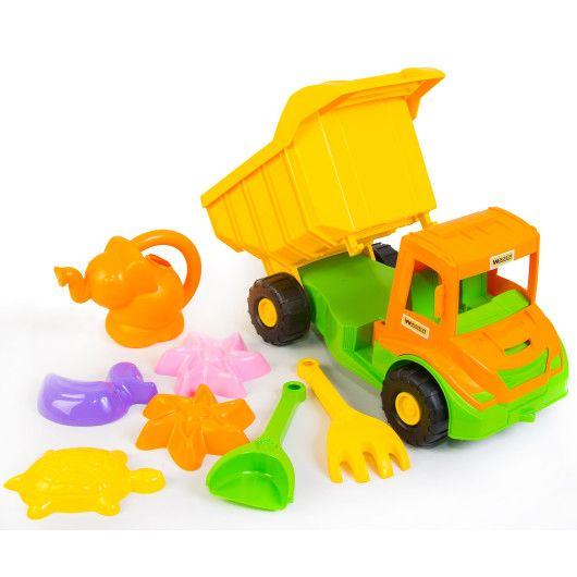 """""""Multi truck"""" вантажівка з набором для піску з лійкою 8 ел. - 2"""