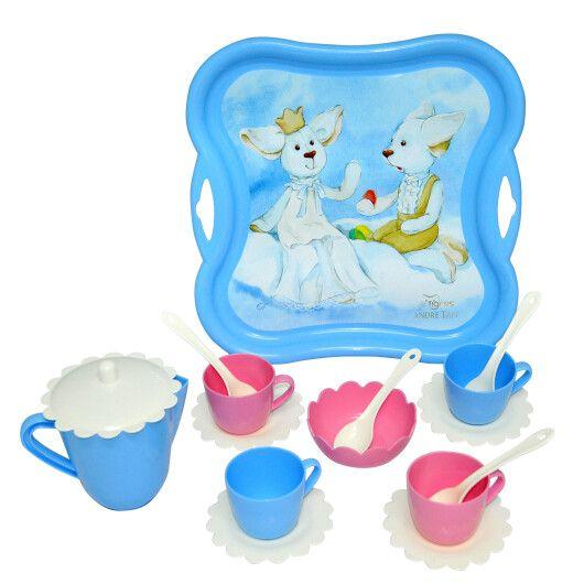 """Набір посуду чайний """"Ельфи на хмаринці"""" 16 ел. - 2"""