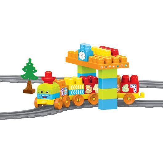 """""""Baby Blocks"""" Мої перші кубики - залізниця 2,24м - 58ел. - 2"""