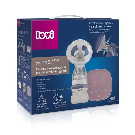 LOVI Молоковідсмоктувач електричний 2-фазний Expert 3D Pro - 4