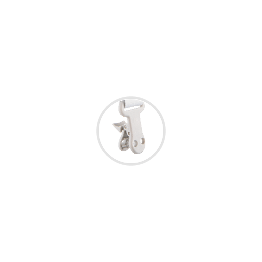 Canpol babies Ланцюжок до пустушки ROYAL BABY - рожевий - 11