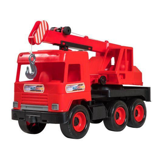 """Авто """"Middle truck"""" кран (червоний) в коробці - 2"""