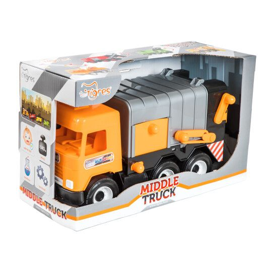 """Auto """"Middle truck"""" City garbage truck"""