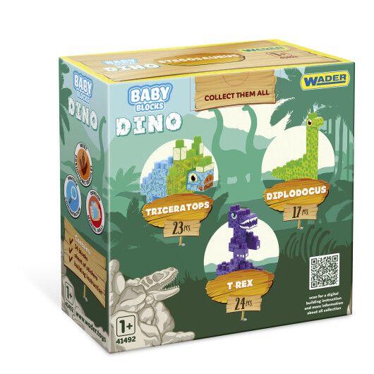 """""""Baby Blocks"""" конструктор Діно - стегозавр - 3"""