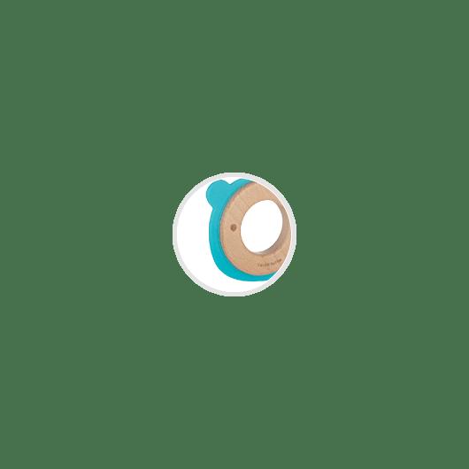Canpol babies Іграшка-прорізувач Ведмедик (дерев'яно-силіконова) - 6