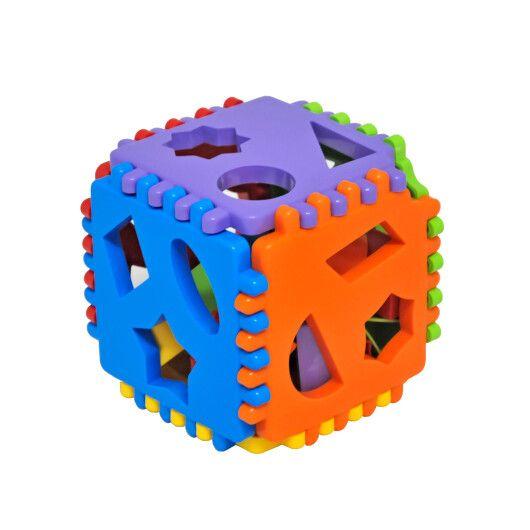 """Іграшка-сортер """"Smart cube"""" 24 ел., Tigres"""