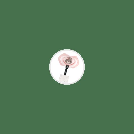Canpol babies Ланцюжок до пустушки BONJOUR PARIS - рожевий - 10