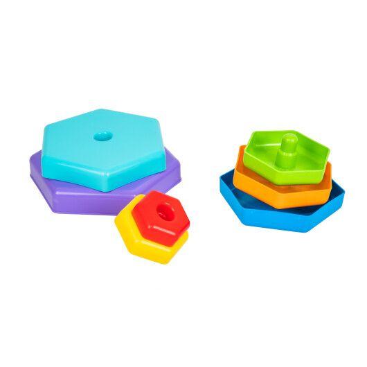 """Іграшка розвиваюча """"Райдужна пірамідка"""" - 2"""