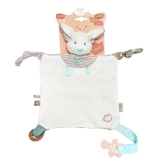 Іграшка - текстильна ельфік Пуффі, ELFIKI