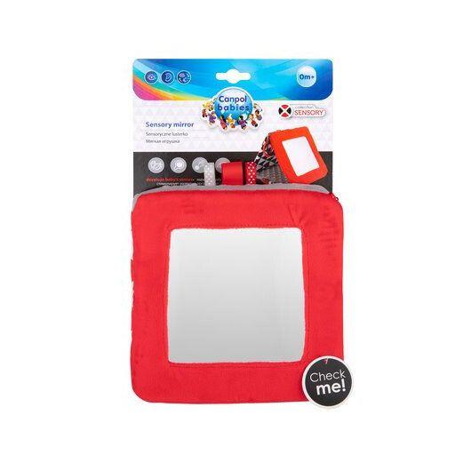 Canpol babies Іграшка-дзеркальце м'яка розвиваюча Sensory Toys - 14
