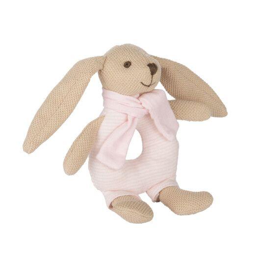 Canpol babies Іграшка-брязкальце м'яка Кролик - рожева - 4