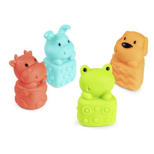 Canpol babies Іграшка для купання Звірята 4 шт. - 2