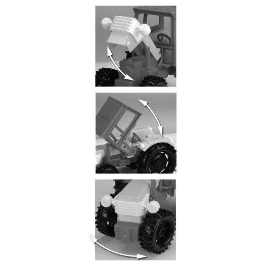 Трактор з причепом - 2