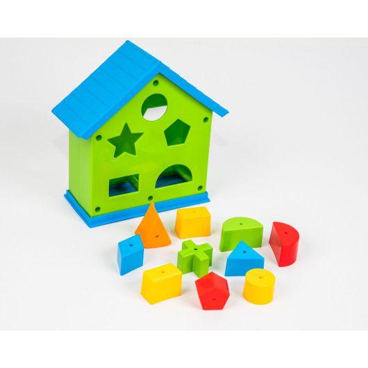 """Іграшка-сортер """"Будиночок розвиваючий"""""""
