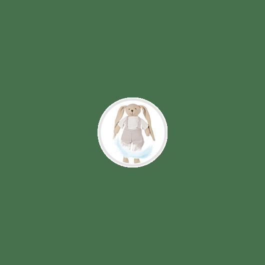Canpol babies Іграшка м'яка Кролик - рожева - 7