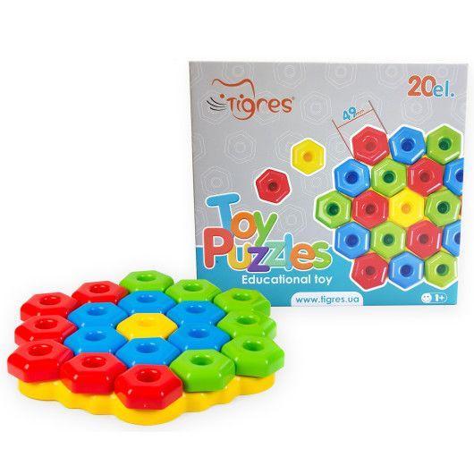 """Іграшка розвиваюча """"Ігро пазли"""" 20 ел."""