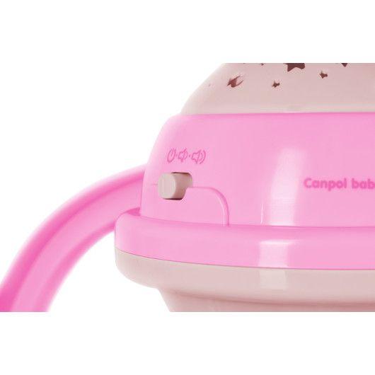 Canpol babies Карусель музична електрична з проектором - блакитна - 4