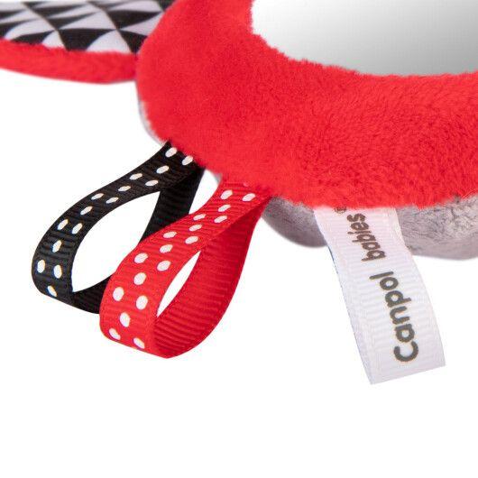 Canpol babies Іграшка м'яка розвиваюча з пищалкою Sensory Toys - 4