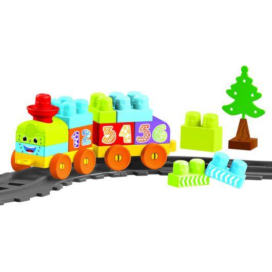 """""""Baby Blocks"""" Мої перші кубики - залізниця 1,45м - 36ел."""