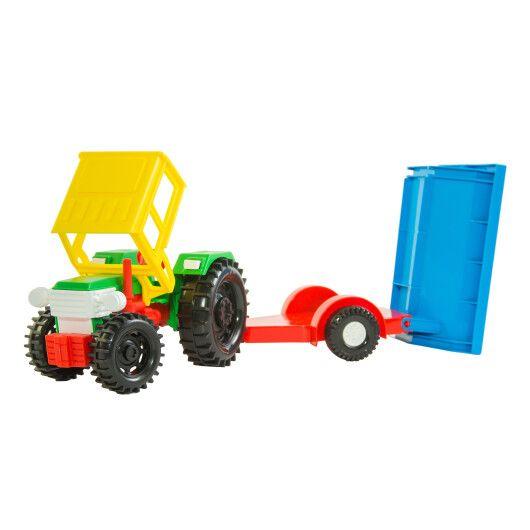 Трактор з причепом в коробці - 3