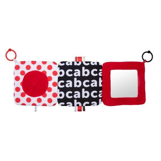 Canpol babies Іграшка-дзеркальце м'яка розвиваюча Sensory Toys - 6