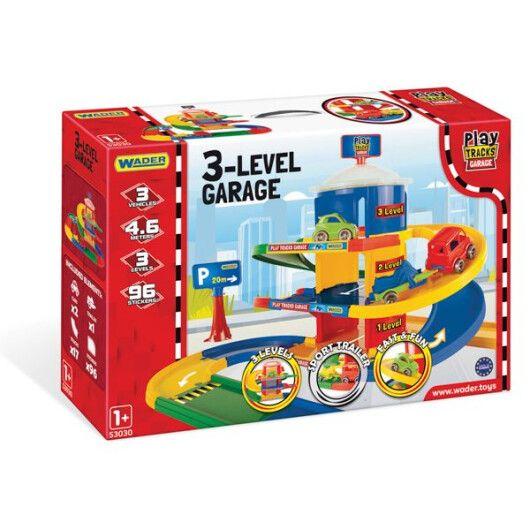 Play Tracks Garage - гараж 3 поверхи