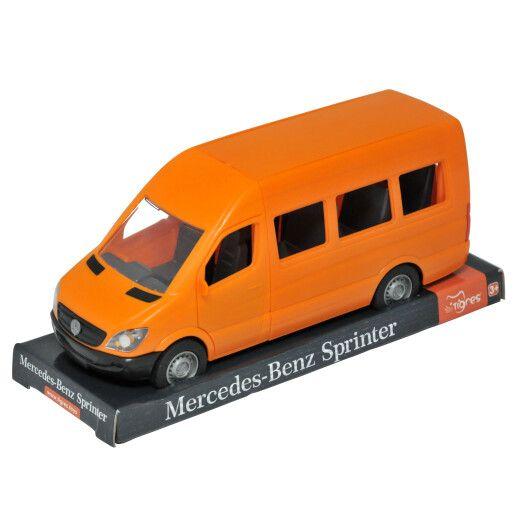 """Автомобіль """"Mercedes-Benz Sprinter"""" пасажирський (помаранчевий) на планшетці, Tigres"""