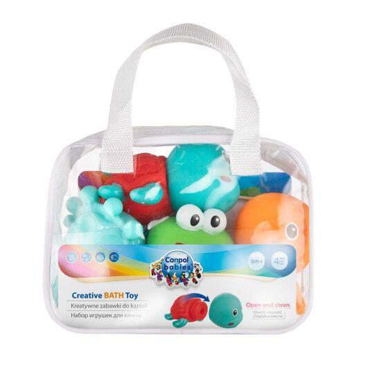 Canpol babies Іграшка для купання 4 шт. OCEAN - 4