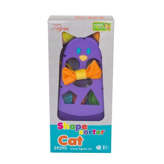 """Розвиваюча іграшка-сортер """"Котик"""" - 2"""