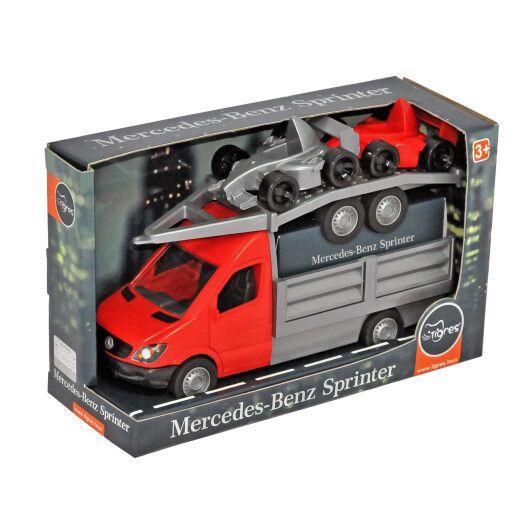 """Автомобіль """"Mercedes-Benz Sprinter"""" бортовий з лафетом (червоний), Tigres"""